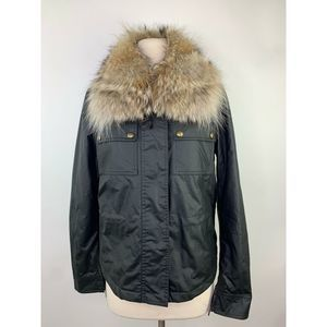 Belstaff Guliford 2.0 W/fur Waxed Cotton Jacket